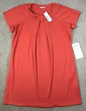 NWT Women's Silhouettes Orangina Knit Dress-size XL