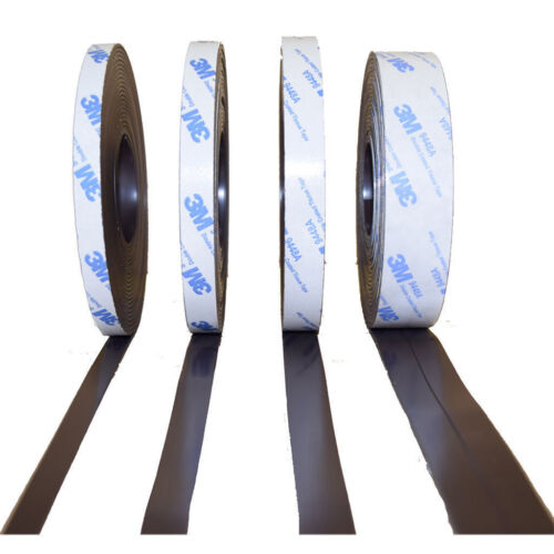 je 5m 1,5mm x 25,4mm Magnetband für Fliegengitter Typ A und B selbstklebend
