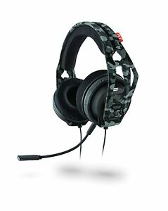 Plantronics RIG 400HX Wired Stereo Gaming Headset for Xbox One PS4 Urban Camo