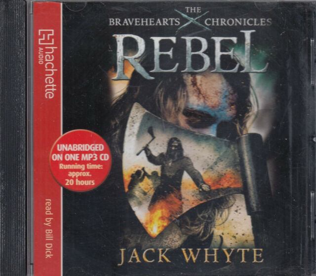 Jack Whyte Rebel Bravehearts Chronicles MP3 CD Audio Book Unabridged FASTPOST