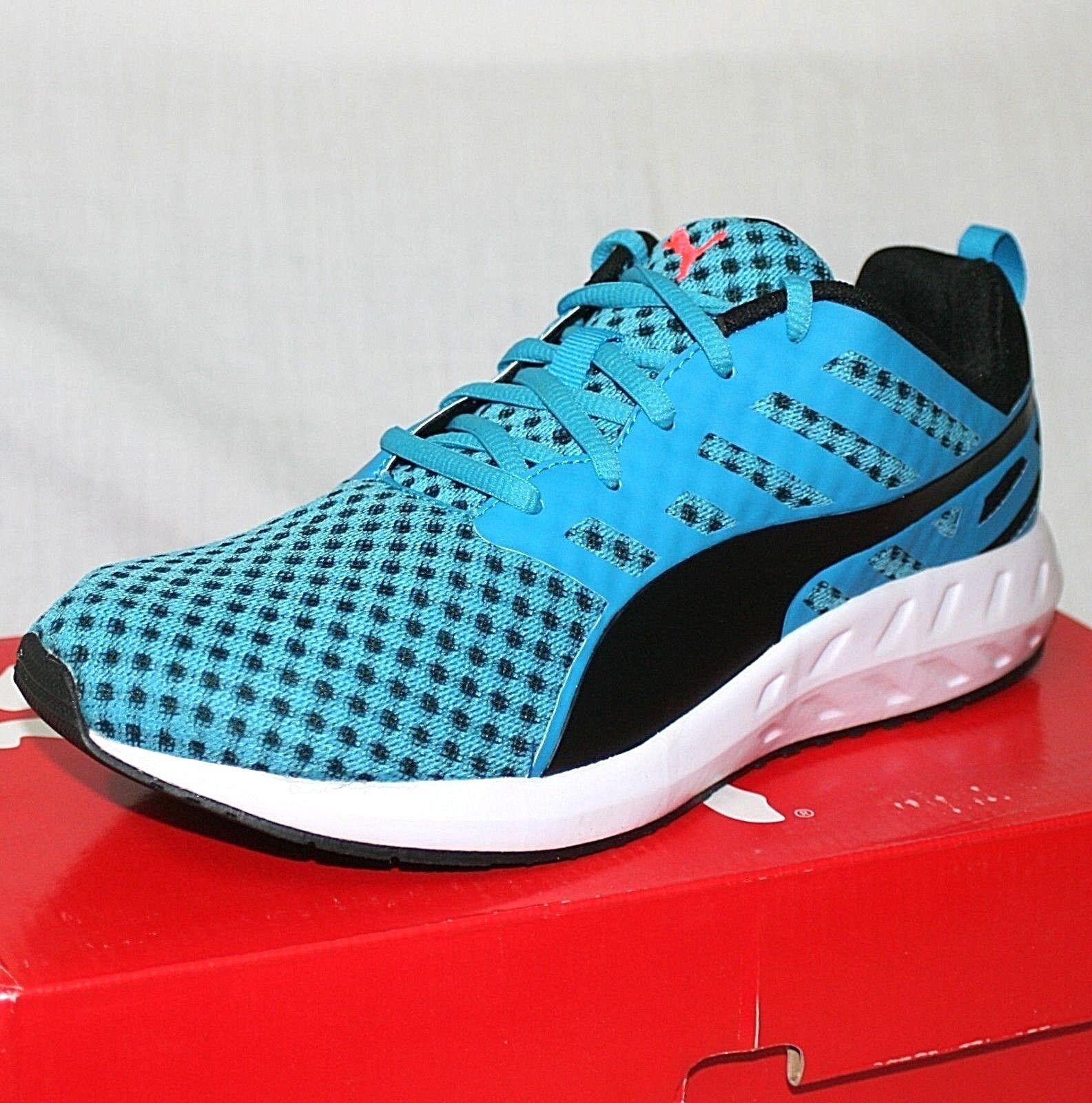 Puma Flare Homme Bleu Amorti Route Gym Running Gym Route Fitness Chaussures De Sport Baskets sz 8ba740