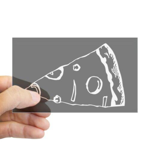 38468418 CafePress Pizza Slice Rectangle Bumper Sticker Car Decal