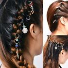 NEW Women Punk Dreadlocks Hairpin Braid Tool Circle Hoop Hair Accessories