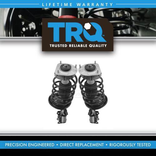 TRQ Front Complete Shock Strut Spring Assembly LH RH Pair for S60 V70 S80