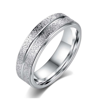 Sporting Damen Ring Edelstahl Silber Damenring Ehering Verlobungsring Ringe Schmuck Neu Rohstoffe Sind Ohne EinschräNkung VerfüGbar