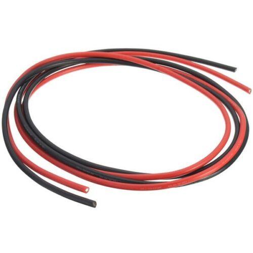 DANIU Silikonkabel 14 AWG je  1 Meter rot und schwarz 14AWG