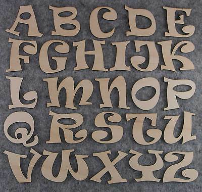 Ravie Alphabet Set 3mm Felt Capital Letters A-Z 26 Characters Sizes 5-12cm