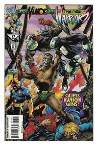 NEW WARRIORS #57 -- NAMOR VS NEW WARRIORS! Marvel! Mar 1995! NM-