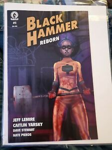 Black Hammer Reborn #1 Jeff Lemire Dark Horse Comics