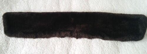 fourrure Femme Veste marron fausse amovible en Col taille cuir Joy XL en 6wzZnxdzq