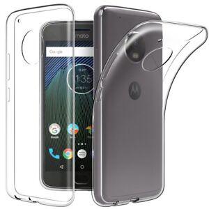 half off 66d0c 1a67d Details about Soft Gel Clear Transparent Case Cover For Motorola Moto G5  G5S G5 Plus G5S Plus