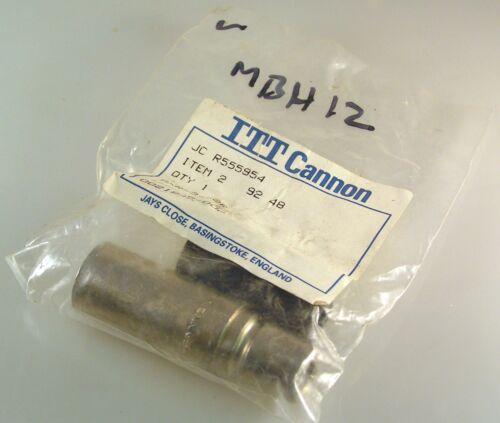 ITT Cannon AXR-3-12R 3 Pin Audio Plug MBH012