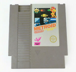 NES-Metroid-Authentic-Silver-Label-Nintendo-Game-Cart-Tested-Working-LOT-A