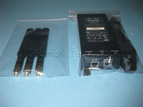 Black Antenna PoE Kit AIR-PWRINJ4 for Cisco AIR-SAP1602E-A-K9 AIR-CAP1602E-A-K9