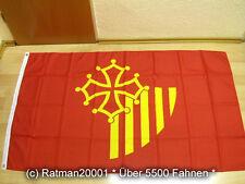 Fahnen Flagge Frankreich Languedoc Roussillon - 90 x 150 cm