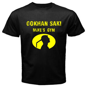 Gokhan Saki The Rebel kickboxing Muay Thai K-1 Mike's Gym MMA Black T-shirt Tee