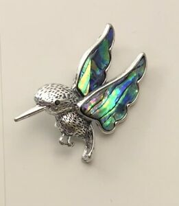 Unique Hummingbird Brooch & Pendant