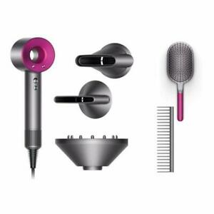 Dyson Supersonic Muttertags Edition Haartrockner mit Styling-Set- Fuchsia/Anthrazit