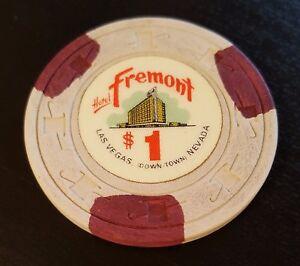 $1 Las Vegas Fremont Hotel Obsolete Casino Chip