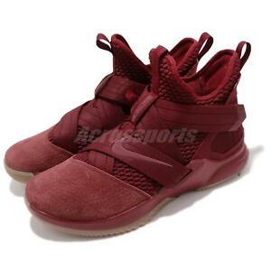 607a7bdb411f5 Nike LeBron Soldier XII 12 SFG EP James Team Red Basketball Shoes ...
