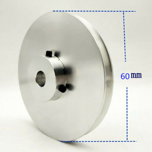M/_M/_S Select Size 60mm Outer Diameter 5 to 20mm V-Groove Step Pulley Bore