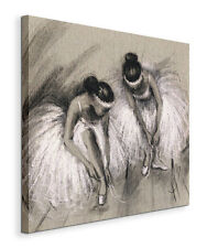 Ballerinas in White Dresses - painting on canvas 60x60 cm