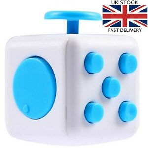 Image Is Loading FIDGET CUBE Cool Novelty Cheap Gadget FUNGift For