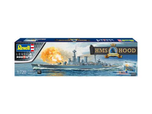 Revell 05693-1//720 HMS Hood 100th Anniversary Neu