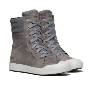 Keen Womens Elena Tall Boots- Grey