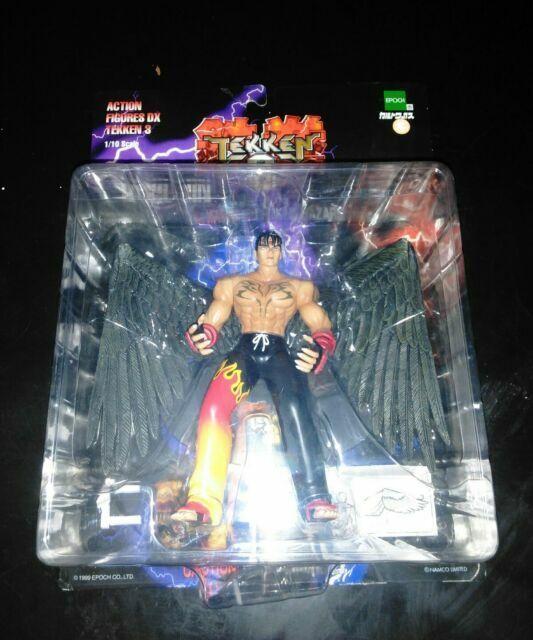 Rare Epoch 1999 Tekken 3 Devil Jin Action Figure 1 10 Scale For Sale Online Ebay