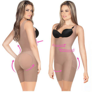 1fbd477278 Image is loading Seamless-Body-Shaper-Butt-Lift-Slimmer-Faja-Colombiana-