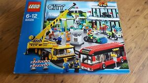 Lego City 60026 - Shopping Square scelle neuf rare