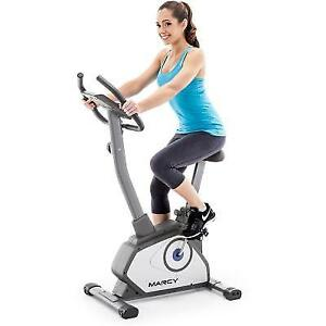 94b119016a8 Marcy NS-40504U Upright Exercise Bike Black for sale online
