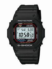 Casio G-Shock Men's Tough Solar Atomic Black Resin Sport 47mm Watch GWM5610-1