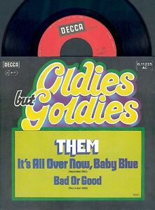"7"" THEM - It's All Over Now, Baby Blue / Bad Or Good - MINT! - UNGESPIELT! - Deutschland - 7"" THEM - It's All Over Now, Baby Blue / Bad Or Good - MINT! - UNGESPIELT! - Deutschland"