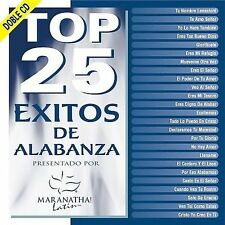 Top 25 Exitos De Alabanza 2CD Set Maranatha latin Musica Cristiana Varios NEW