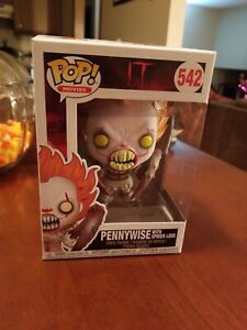 MOVIES FUNKO POP IT PENNYWISE WITH SPIDER LEGS 542 29526 VINYL FIGURE