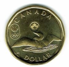 2012 Canadian Commemorative Brilliant Uncirculated Olympic $1 Loonie!