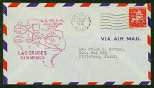 1948 FIRST FLIGHT AM  64 LAS CRUCES, NM  TO EL PASO, TX - C38   (ESP#1820)