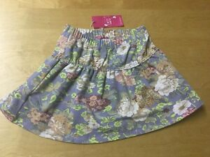 Cake-Walk-12-Years-Girls-Kids-152-cm-146-152-Titia-Style-Floral-Stretchy-Skirt