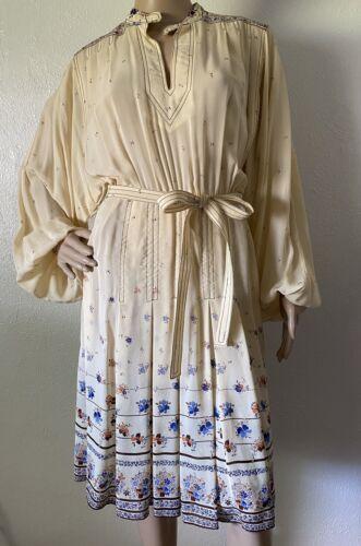 Vintage Women's Jean Varon 70s, Boho Dress