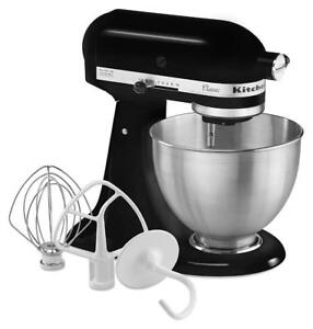 KitchenAid K45SSOB Tilt-Head Stand Mixer 4.5qt. ONYX BLACK