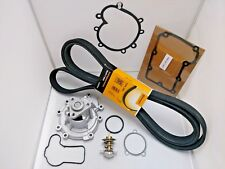 Belt Thermostat 83c Engine Coolant For Porsche 955 03-06 S//T LASO Water Pump