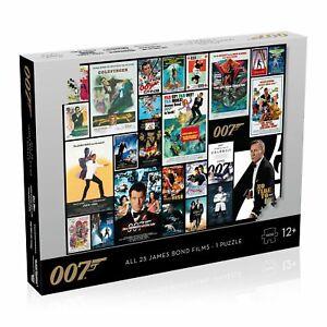 Puzzle Winning Moves - James Bond Movie Poster 1000