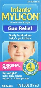 Details about MYLICON Infants' Gas Relief Original Drops 50 Doses 0 5 Ounce