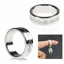 Strong Magnetic Ring 19mm  Magnet Coin Finger Pro Magic Tricks Props Show ToolE6