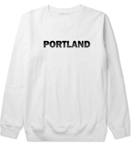 Portland Oregon State City Crewneck Sweatshirt