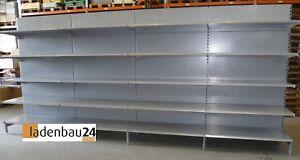 5-m-Tegometall-Wandregal-Ladenregal-220-cm-h-2-FB-57-3-FB-47-cm-weissalu