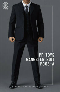 PP-TOYS-P003-A-1-6-WWII-Gangster-Suit-Set-Male-Soldier-Figure-Clothes-Accessorie