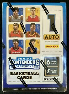 2020-21 Panini Contenders Draft Picks Basketball Blaster box -Zion Ja auto prizm